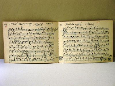 dejiny hudobnej kultúry - notové záznamy