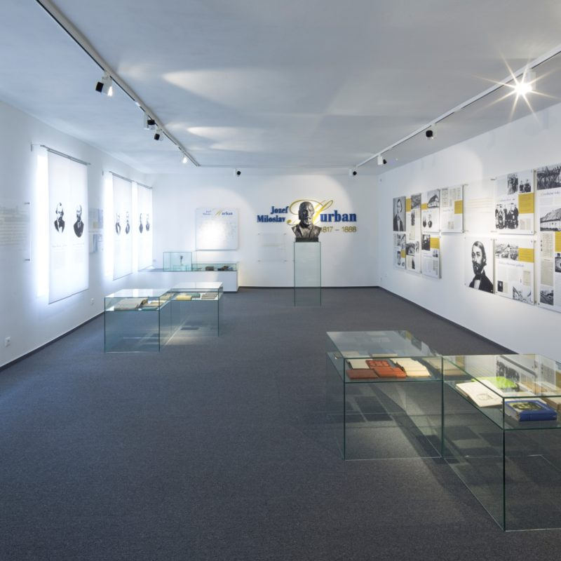 expozícia J. M. Hurbana - interiér