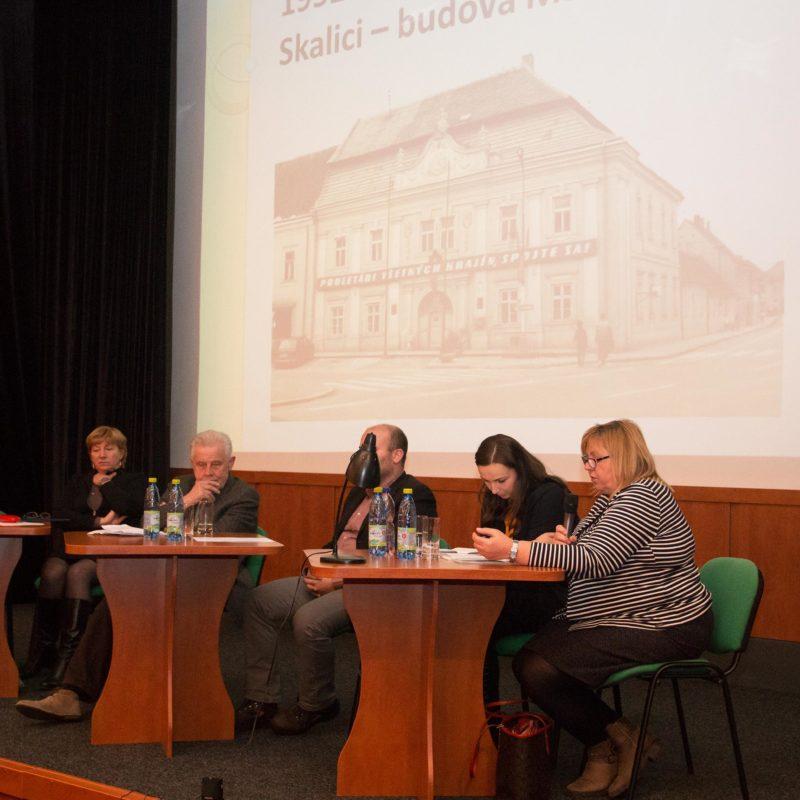 Riaditeľka MV SR, Štátny archív v Trnave, pobočky Skalica Helena Polakovičová. Foto: Róbert Svíba