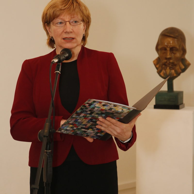 PhDr. Viera Drahošová, riaditeľka Záhorského múzea v Skalici. Foto: Róbert Svíba