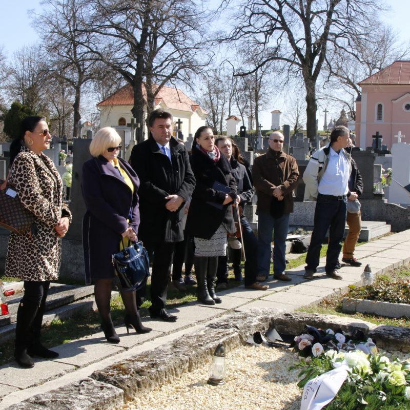 Príhovor predniesla riaditeľka Záhorského múzea v Skalici PhDr. Viera Drahošová. Foto: Róbert Svíba