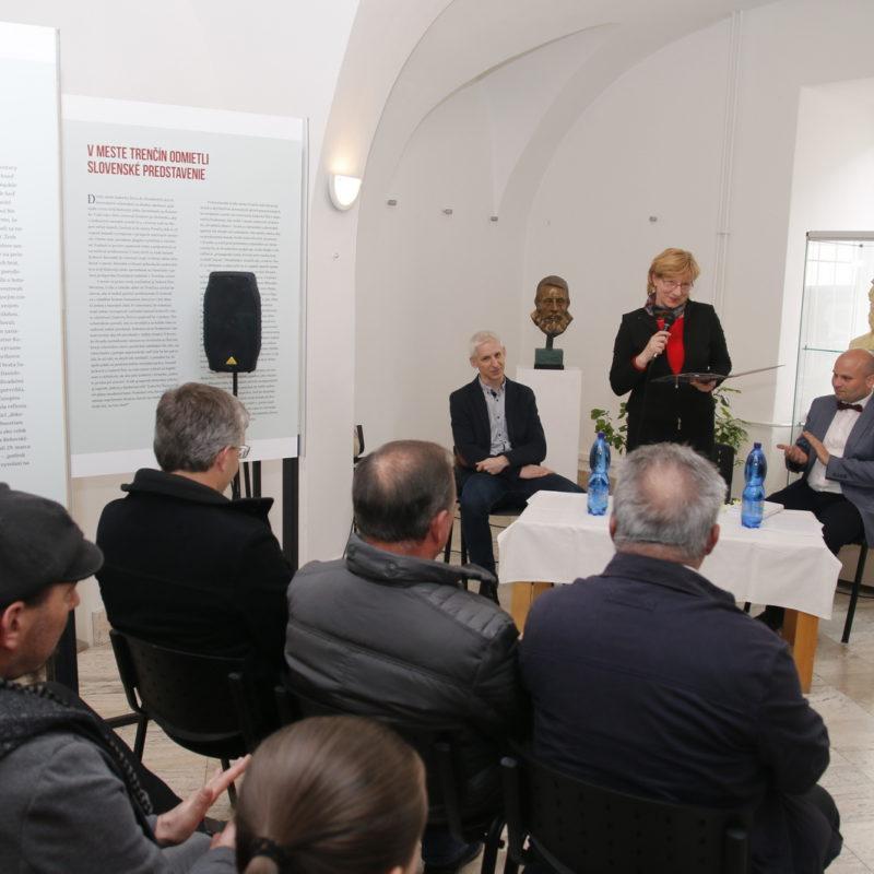 PhDr. Viera Drahošová, riaditeľka Záhorského múzea v Skalici
