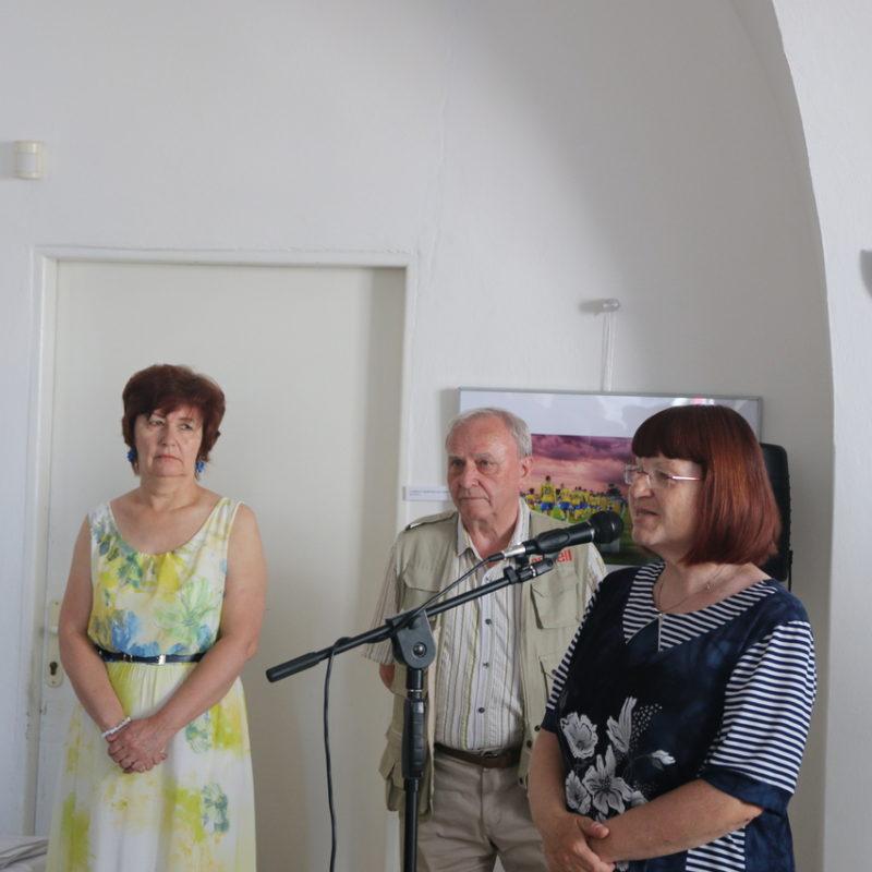 RNDr. Ľubica Krištofová, riaditeľka Záhorského osvetového strediska. Foto: Martin Hoferka