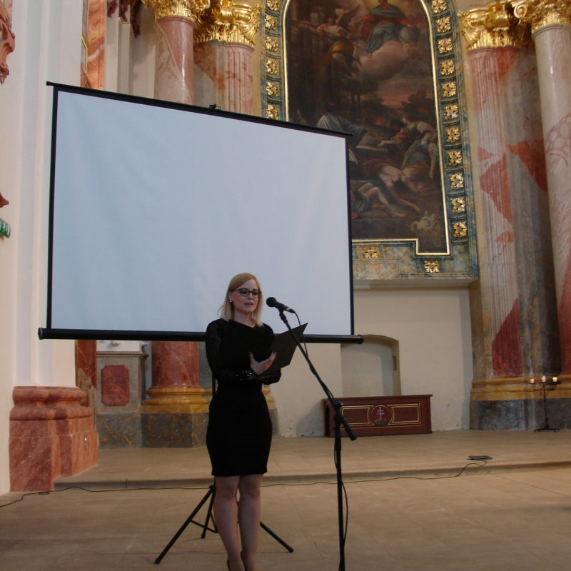 Alžbeta Michalovičová (spev). Foto: Peter Michalovič