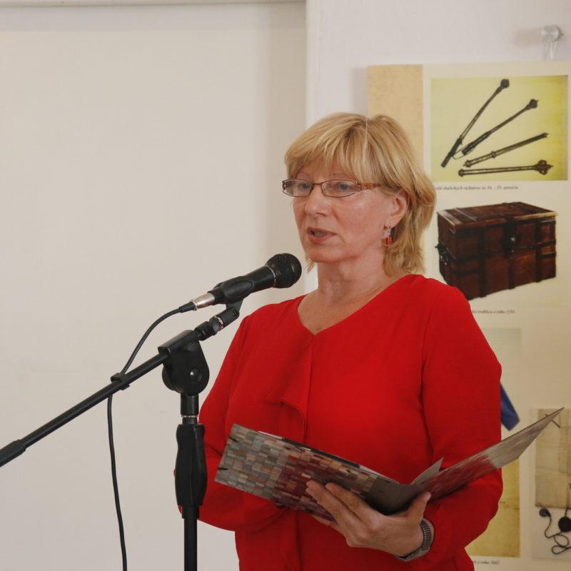 PhDr. Viera Drahošová, riaditeľka Záhorského múzea v Skalici. Foto: Jakub Drahoš