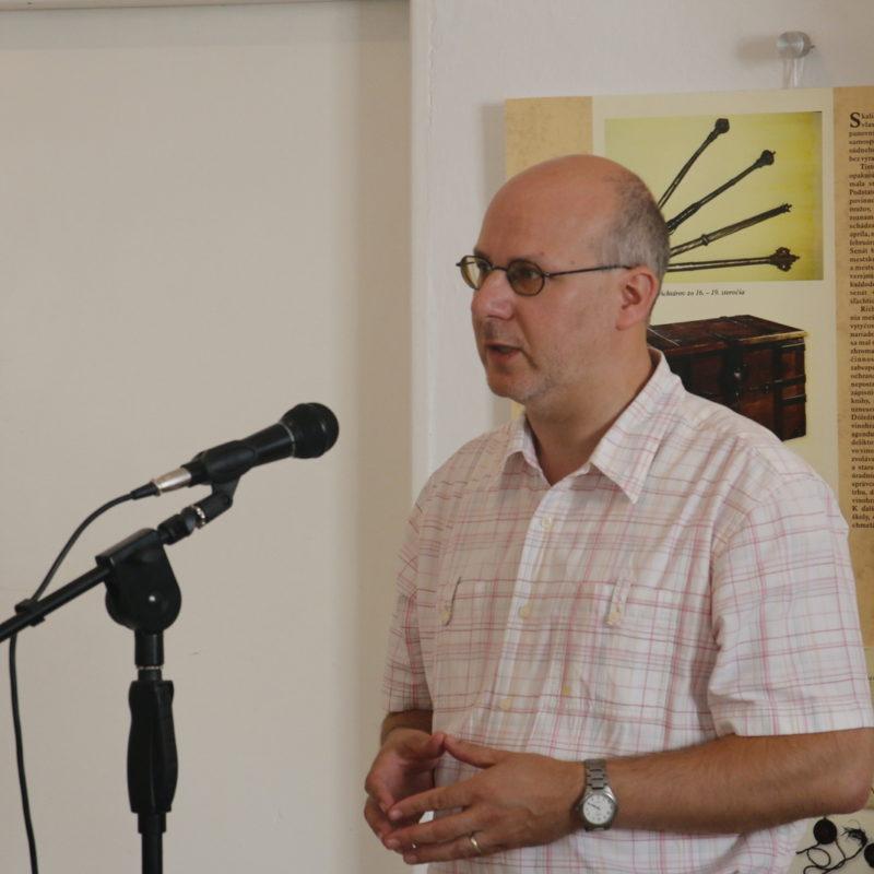 Mgr. ThLic. Martin Hoferka, Th.D. Foto: Jakub Drahoš