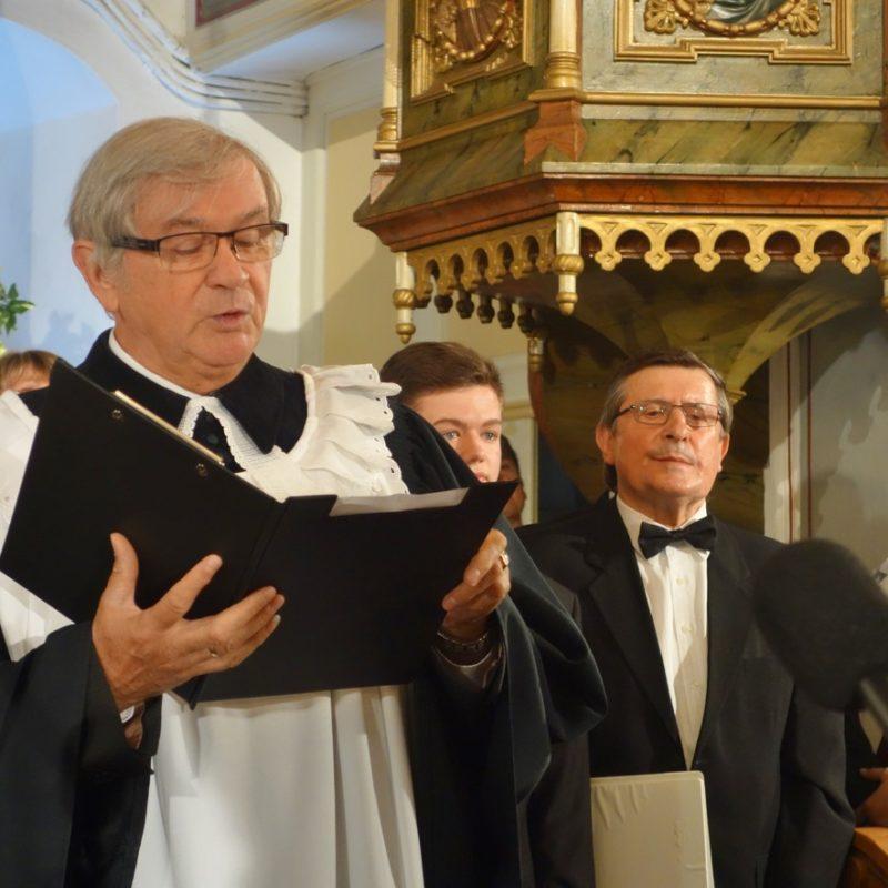 evanjelický a. v. farár cirkevného zboru ECAV Senica, administrátor CZ ECAV Hlboké Juraj Šefčík. Foto: Viera Drahošová