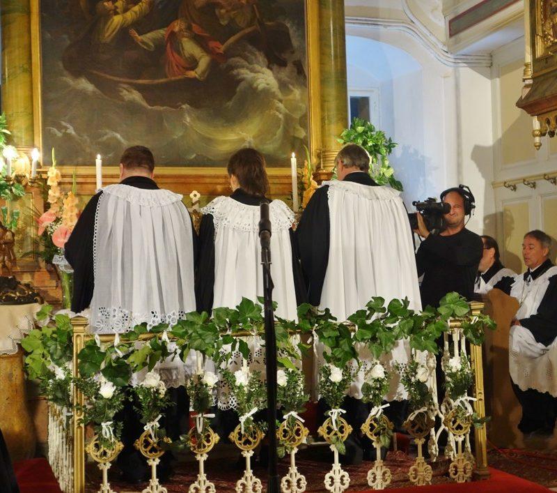 Slávnostné služby Božie. Foto: Viera Drahošová
