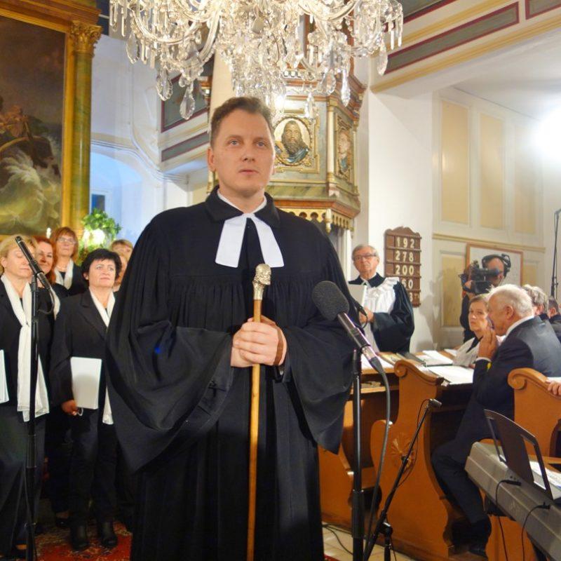 Evanjelický a. v. farár v cirkevnom zbore Stará Pazova (Srbsko) Igor Feldy. Foto: Viera Drahošová
