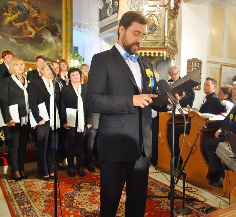 starosta obce Hlboké, kurátor cirkevného zboru ECAV Hlboké Miloš Čobrda. Foto: Viera Drahošová