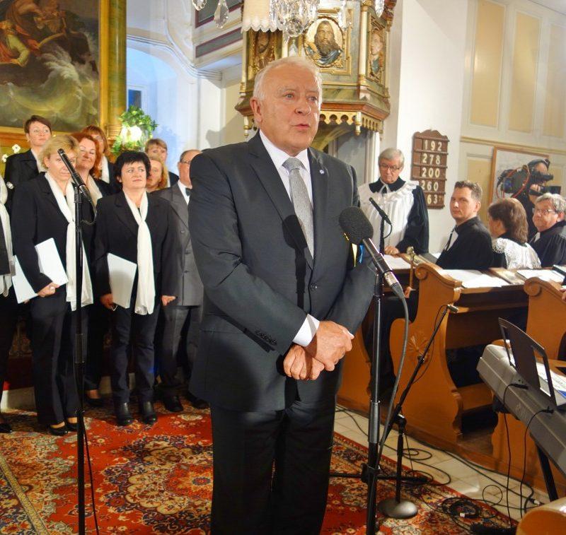 generálny dozorca ECAV na Slovensku Imrich Lukáč. Foto: Viera Drahošová