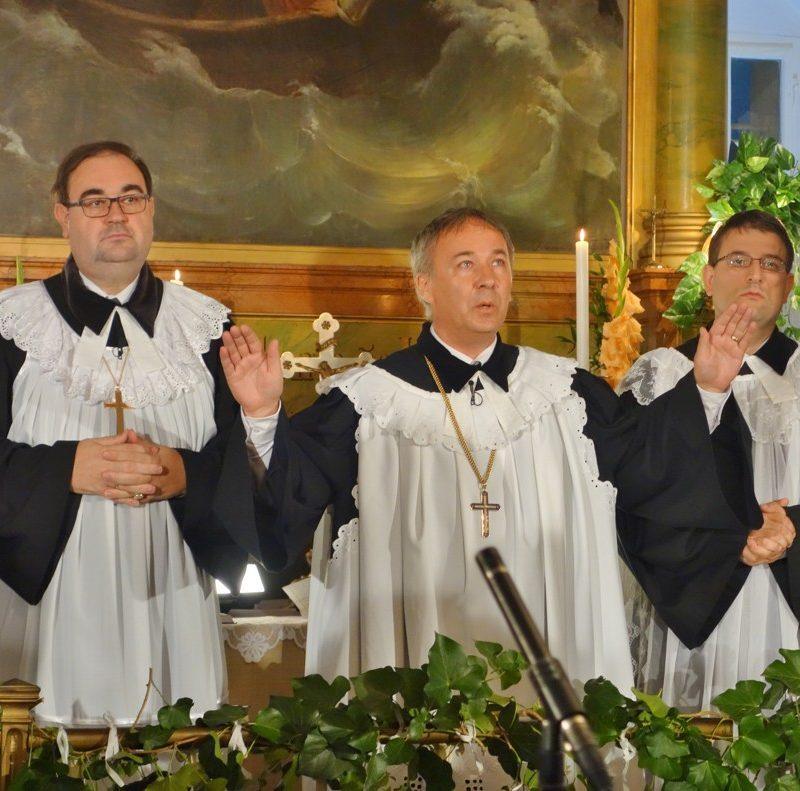 generálny biskup ECAV na Slovensku Miloš Klátik. Foto: Viera Drahošová